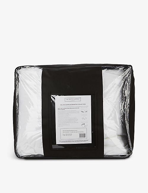 THE WHITE COMPANY: Deluxe Down Alternative double cotton duvet