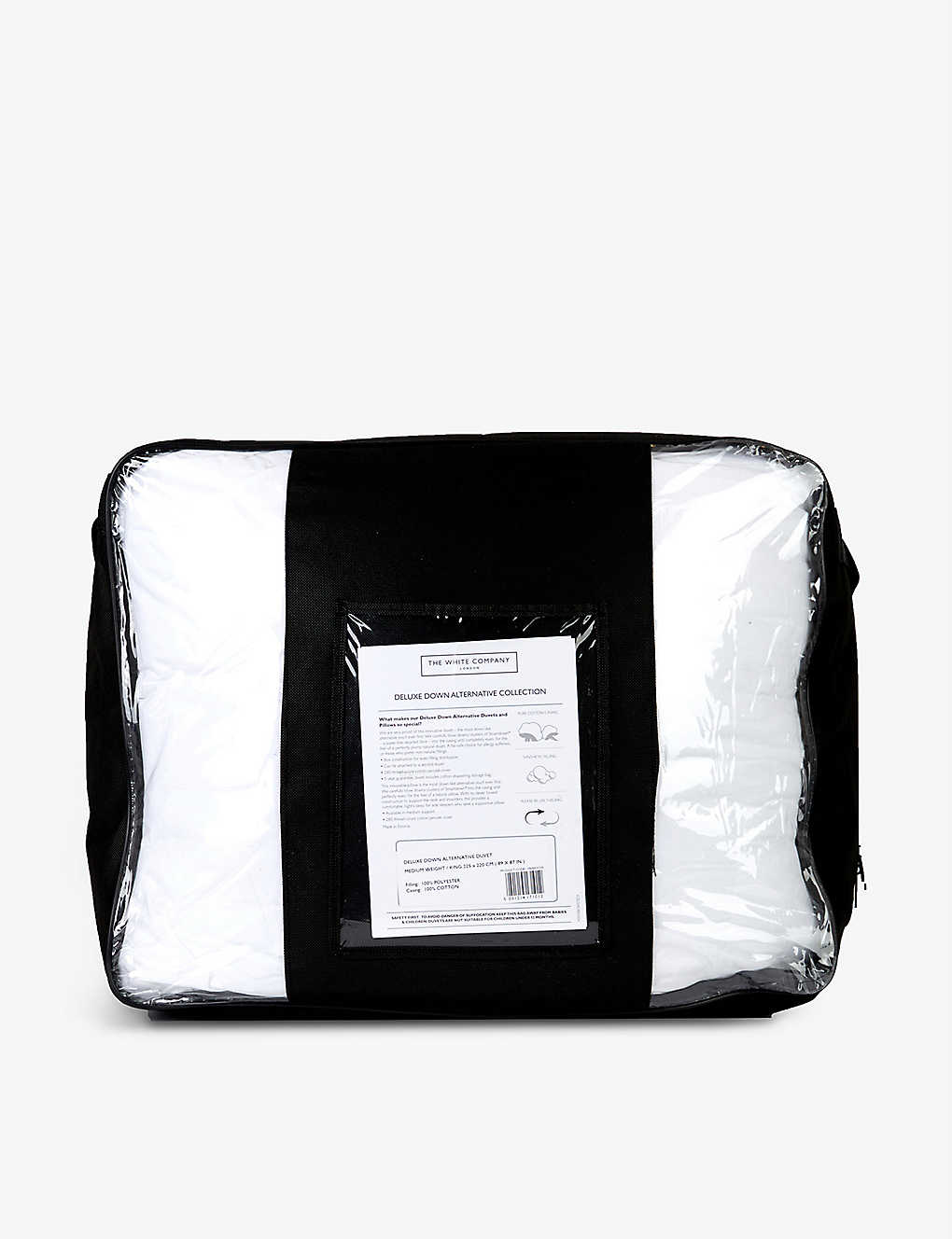 THE WHITE COMPANY: Deluxe Down Alternative king size cotton duvet
