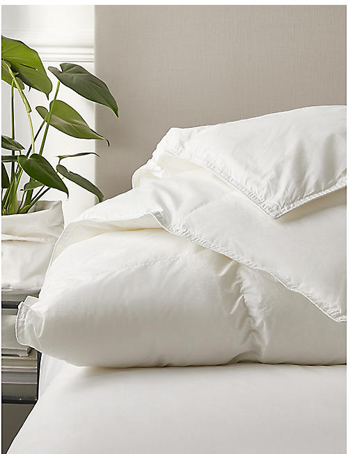 THE WHITE COMPANY: Deluxe down alternative light super king duvet 260x220cm