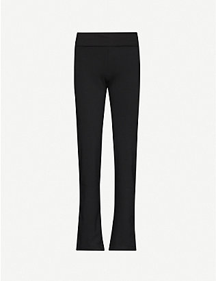 THE WHITE COMPANY: Roll waist yoga trousers