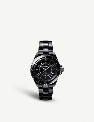 CHANEL H5697 J12 automatic ceramic and steel watch