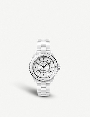 CHANEL H5700 J12 automatic ceramic and steel watch