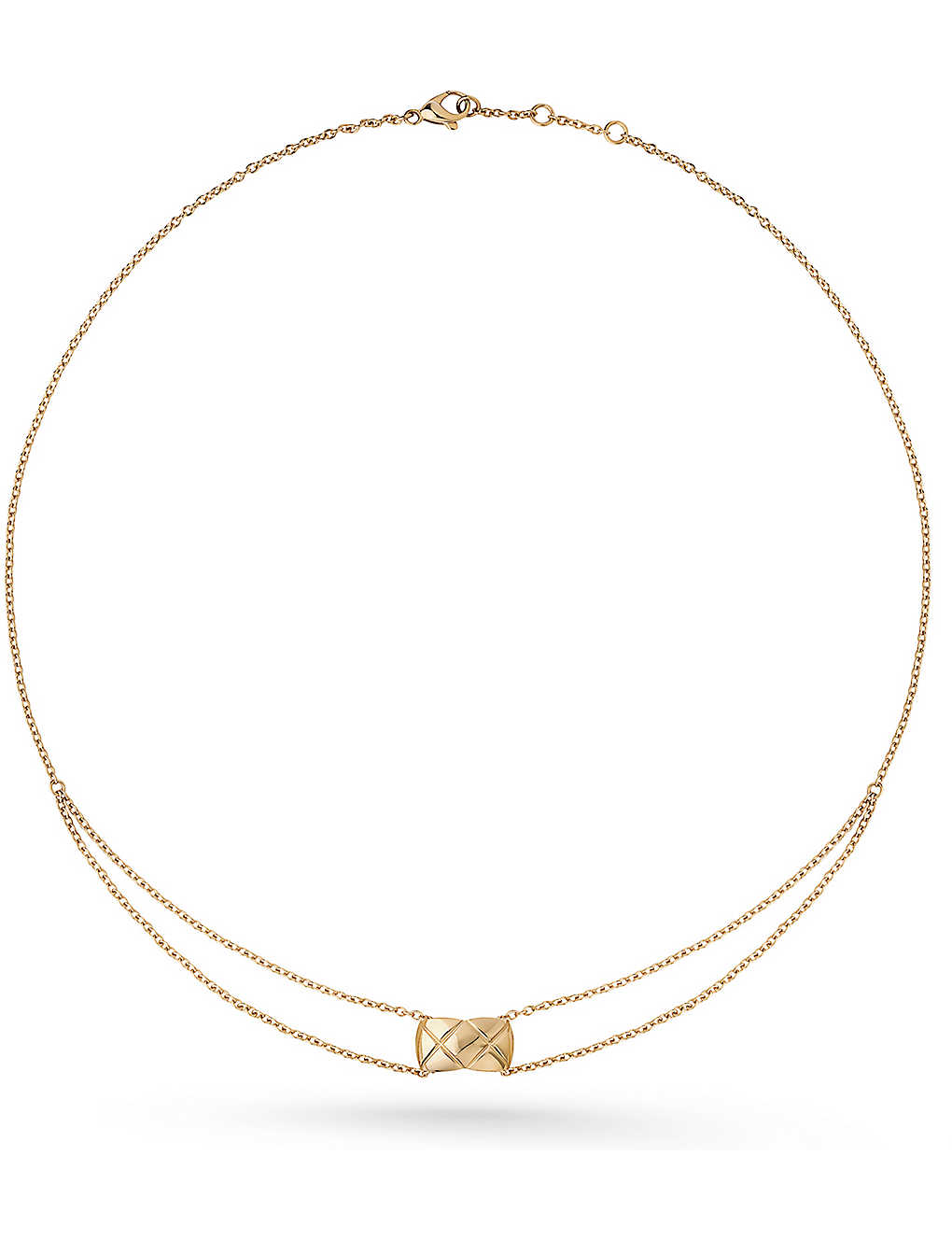 1b7a9edf0aa23d CHANEL - Coco Crush 18K beige gold necklace | Selfridges.com