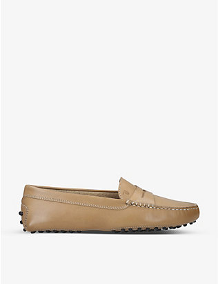 TODS: Tod's Gommino leather driving shoes