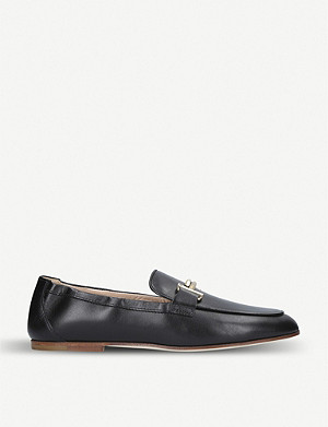 TODS Violet suede loafers