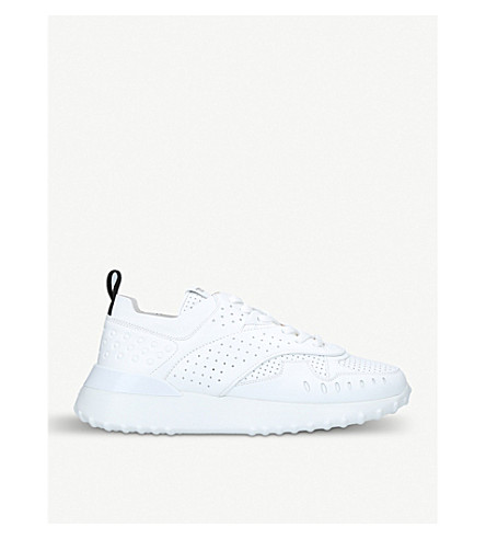 3e25dc747e2 ... TODS Sport 80a perforated leather trainers (White. PreviousNext