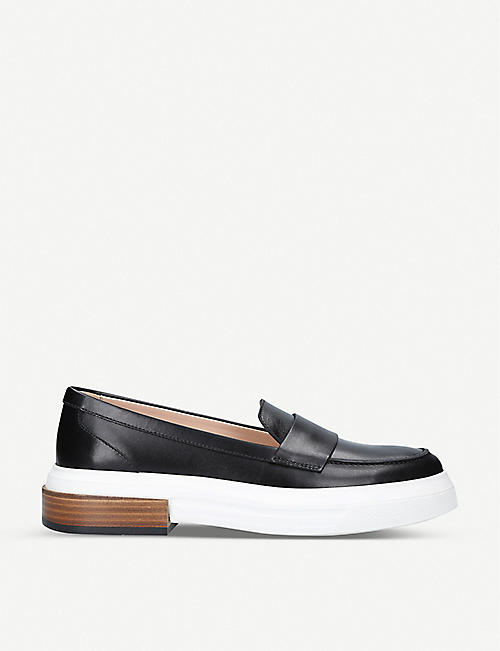 TODS: Gomma Travers leather loafers