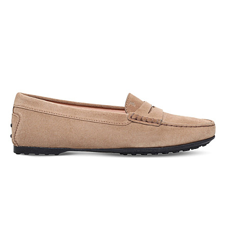 813f8440fbe TODS - City Gommino suede loafers