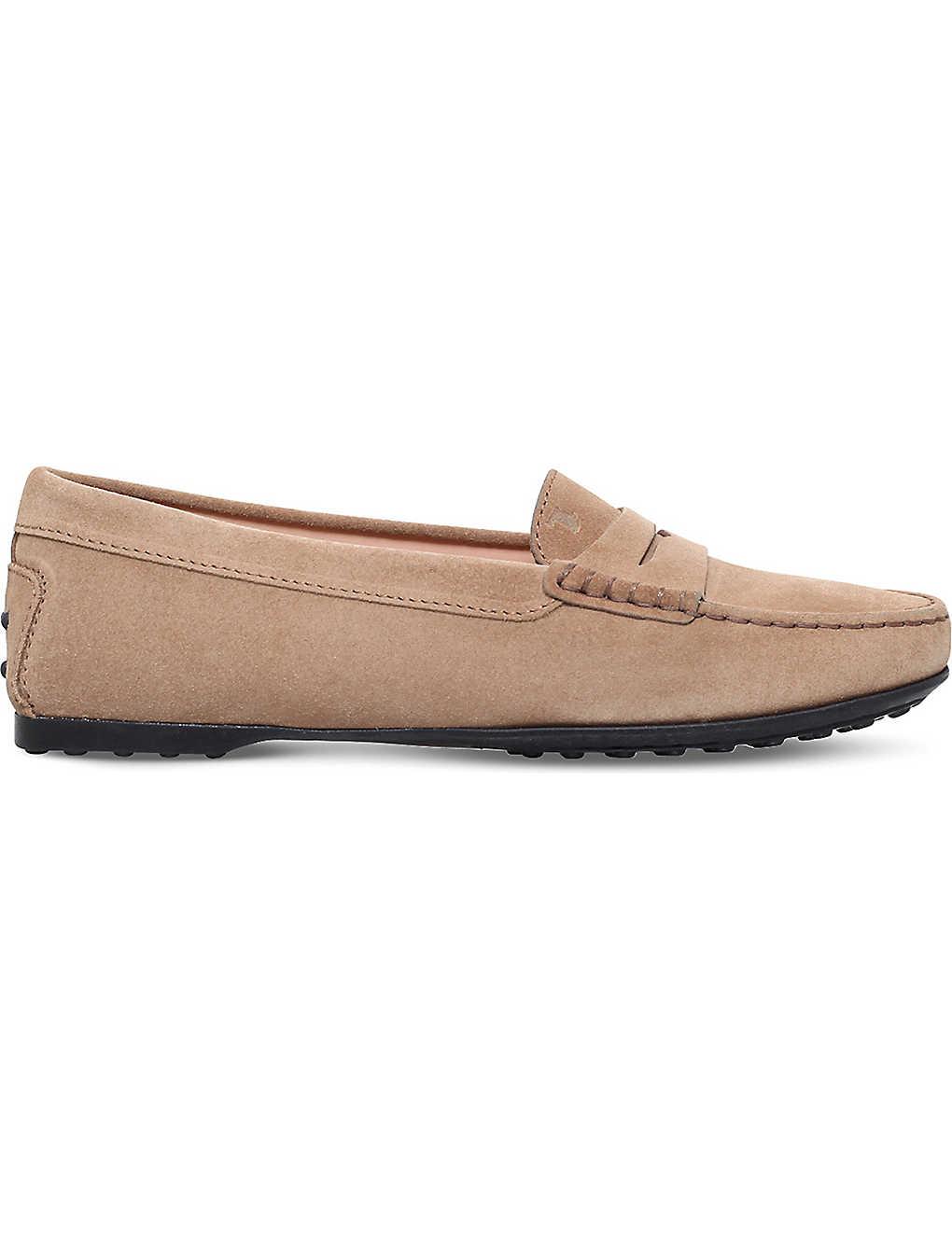 f89cc620e82 TODS - City Gommino suede loafers | Selfridges.com