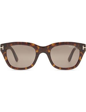 8fe1c6c92e TOM FORD - Tortoiseshell Ft0592 Ernesto irregular sunglasses ...