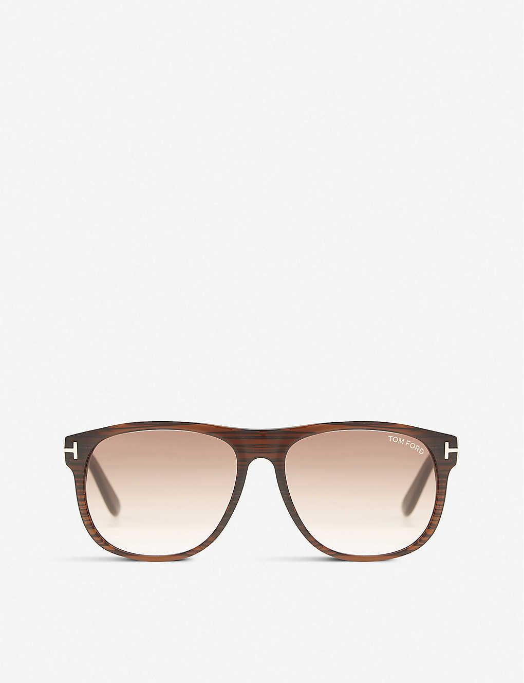2b48011a125e2 TOM FORD - Olivier square-frame sunglasses