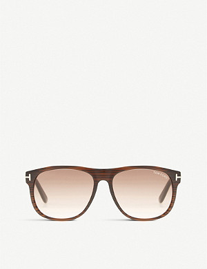 TOM FORD Olivier square-frame sunglasses