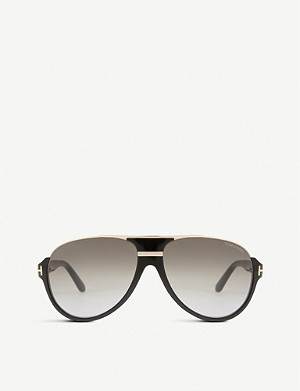 TOM FORD Dimitry aviator sunglasses