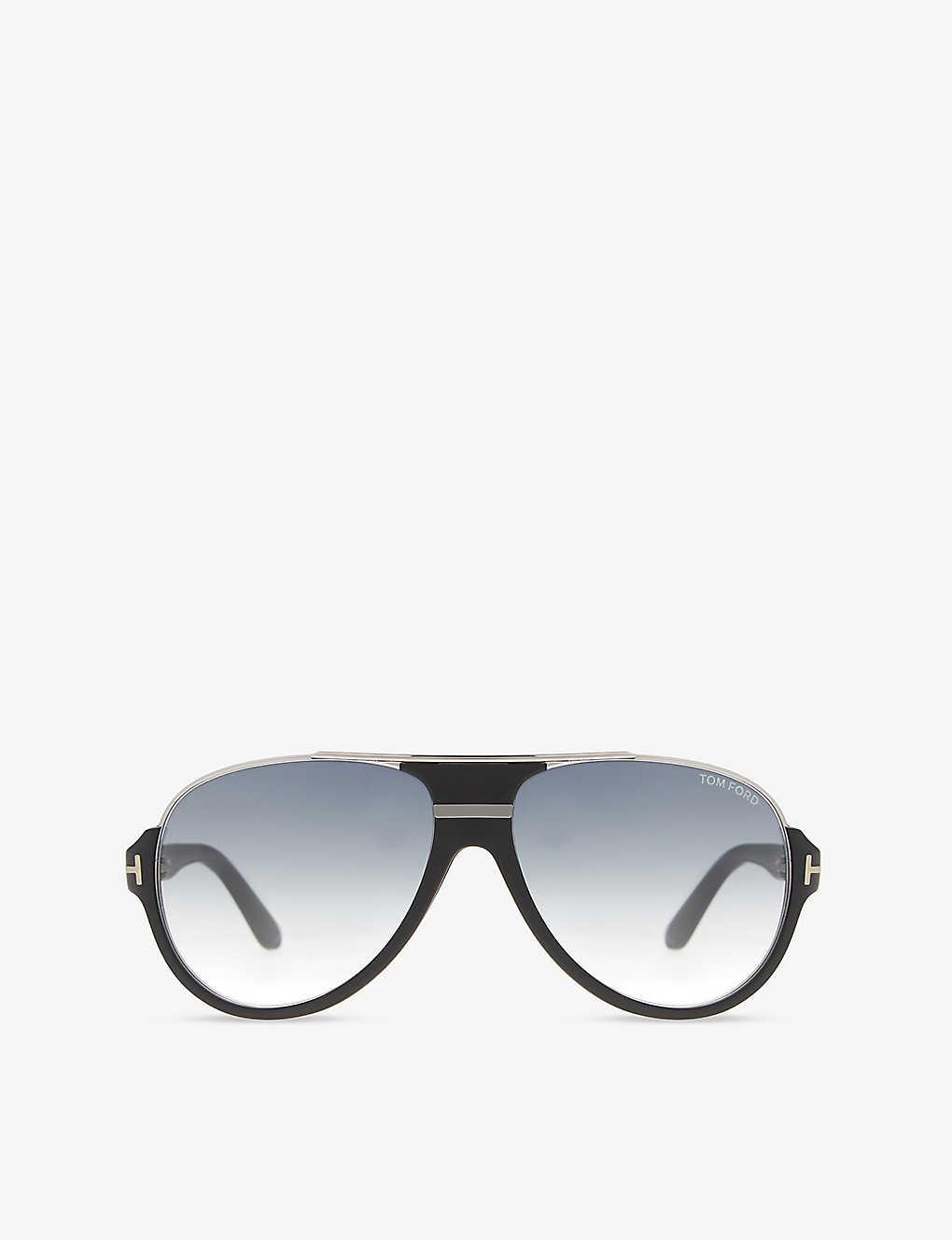 3433a0ce29e6d Dimitry aviator sunglasses - Black matte ...