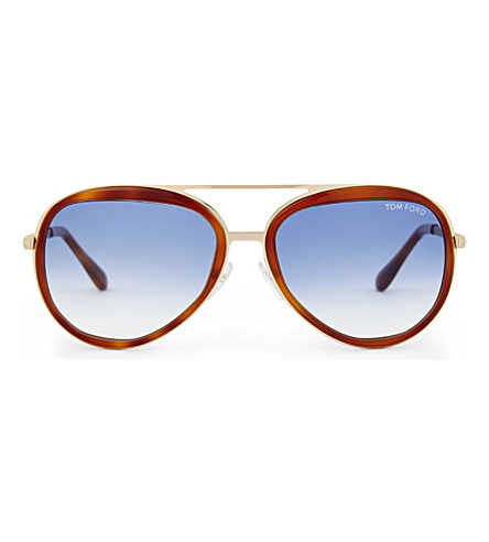 75385e4bb0a1d TOM FORD Ft0457 Andy sunglasses (Tortoise