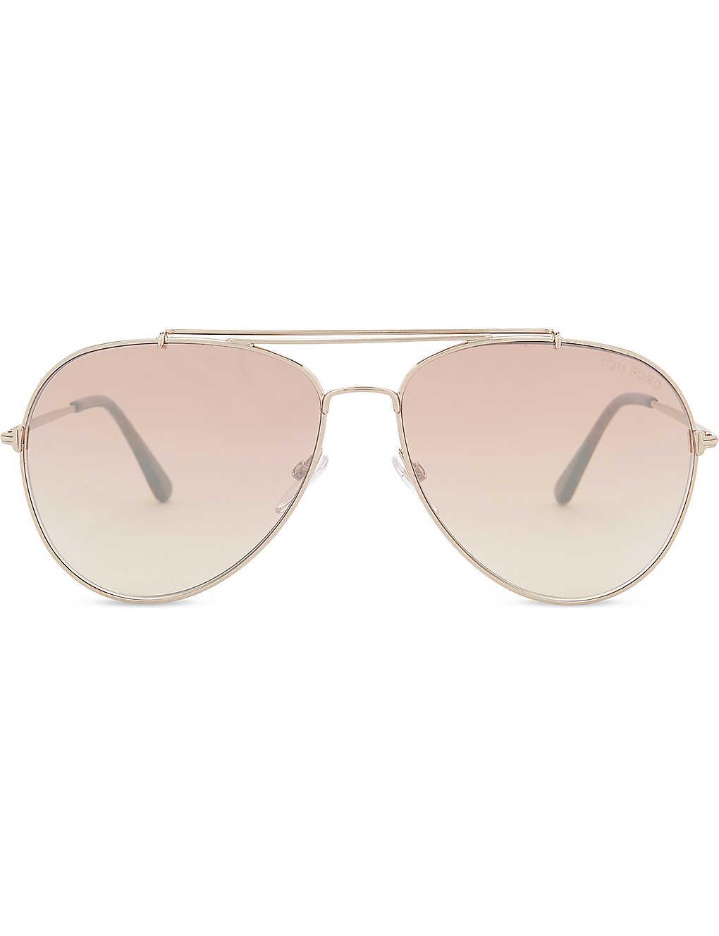 1c0785137a9d4 Indiana aviator sunglasses - Pink gold ...
