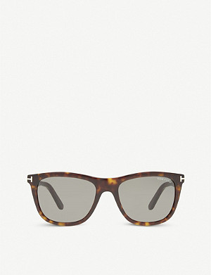 TOM FORD Andrew square-frame sunglasses