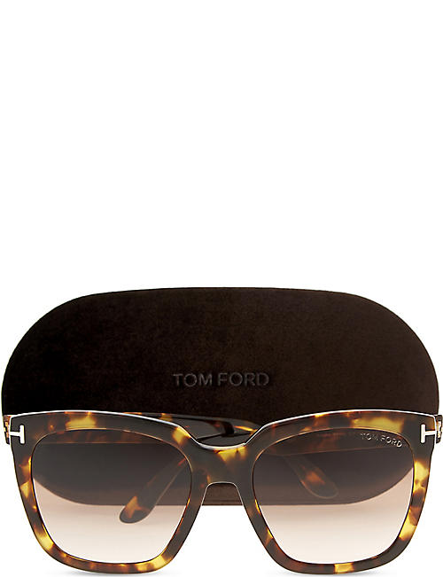 TOM FORD Amara square-frame sunglasses