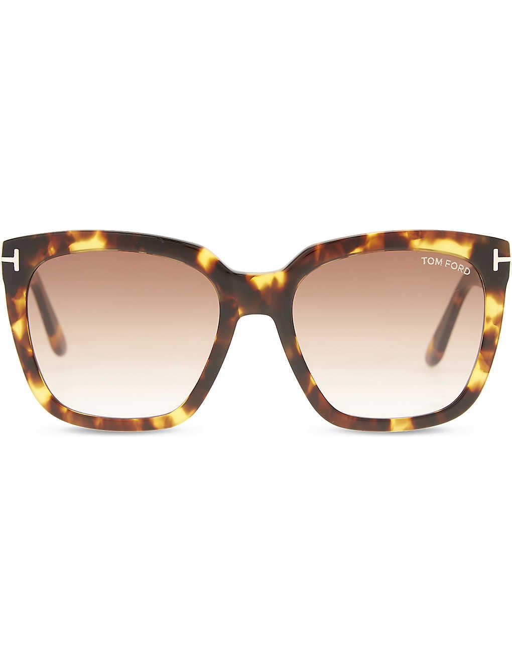 58285811630f2 TOM FORD - Amara square-frame sunglasses