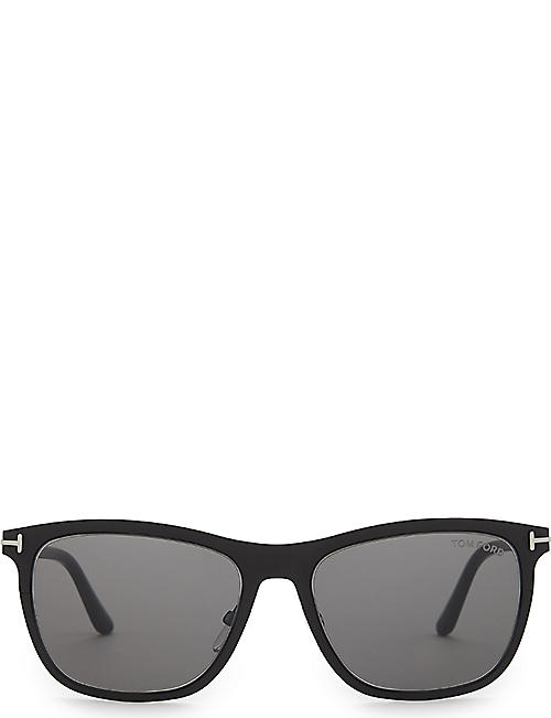 TOM FORD: Alasdhair square-frame sunglasses