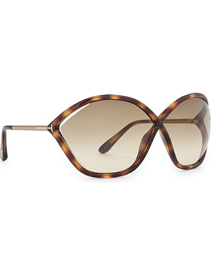 TOM FORD Bella Tf529 hexagon-frame sunglasses