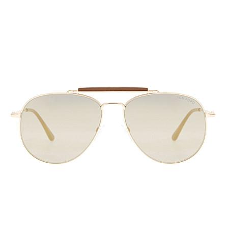 0dcdd905c6db0 TOM FORD Sean Tf536 aviator sunglasses (Pink+gold