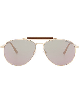 TOM FORD Sean aviator sunglasses