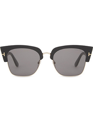 TOM FORD Dakota half-frame sunglasses