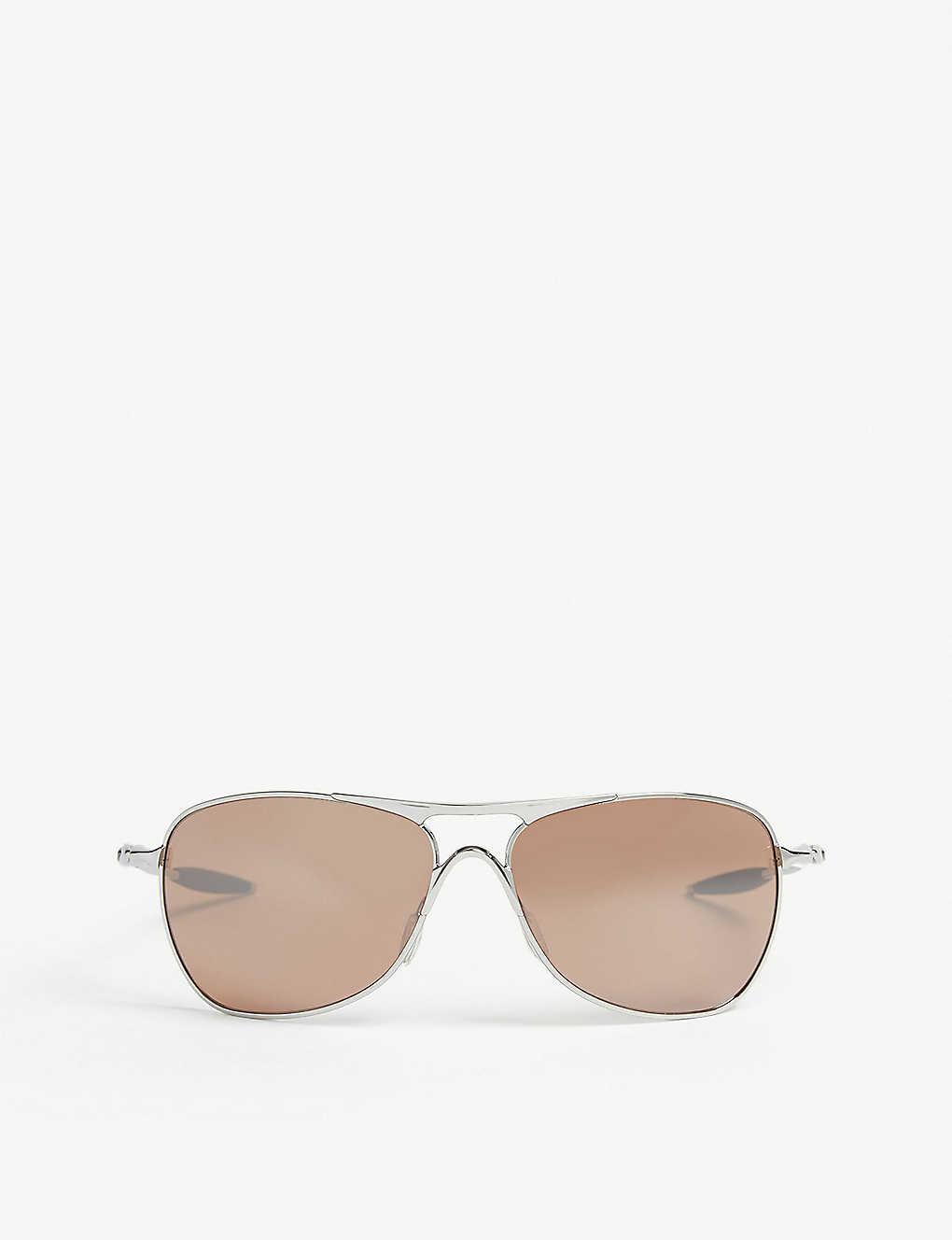 9532b347b9a5 OAKLEY - OO4060 Chrome square sunglasses | Selfridges.com