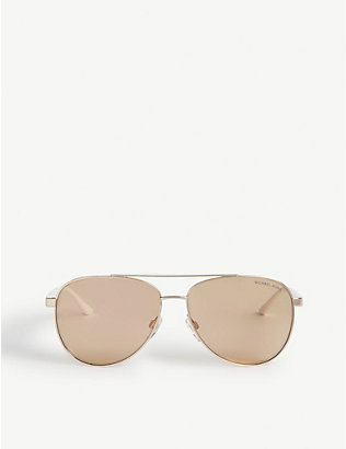 MICHAEL KORS: Mk5007 Hvar aviator sunglasses