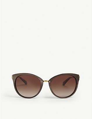 MICHAEL KORS: Mk6040 Abela III cat eye-frame sunglasses
