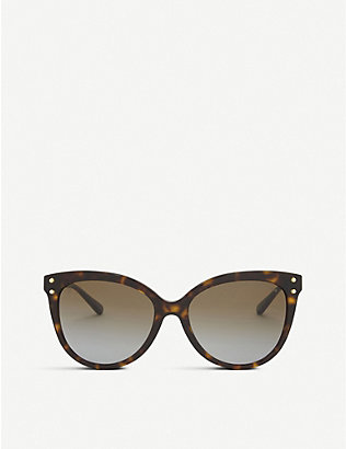 MICHAEL KORS: Mk2045 Jan cat eye-frame sunglasses