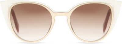 FENDI FI10136/S cat-eye-frame sunglasses