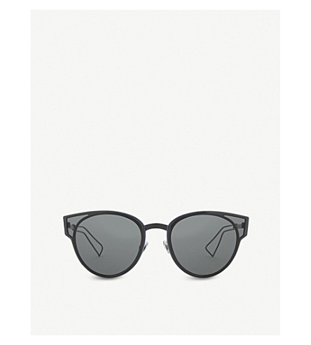 0bd56e0600c ... DIOR Sculpt cat-eye sunglasses (Black+shiny. PreviousNext