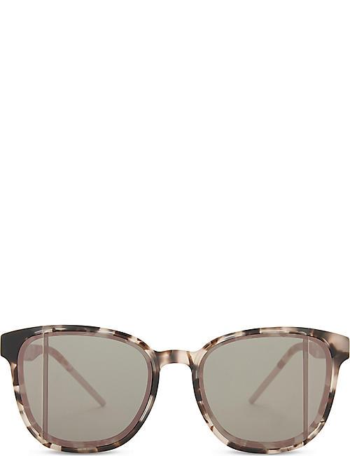 c639dcf09a7a DIOR Diorstop tortoiseshell square-frame sunglasses