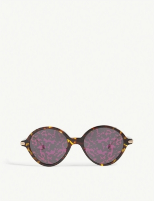 Umbrage Round Frame Sunglasses by Dior