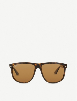 RAY-BAN RB4147 square-frame sunglasses