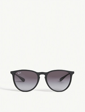 RAY-BAN Rb4171 rubber round-frame sunglasses