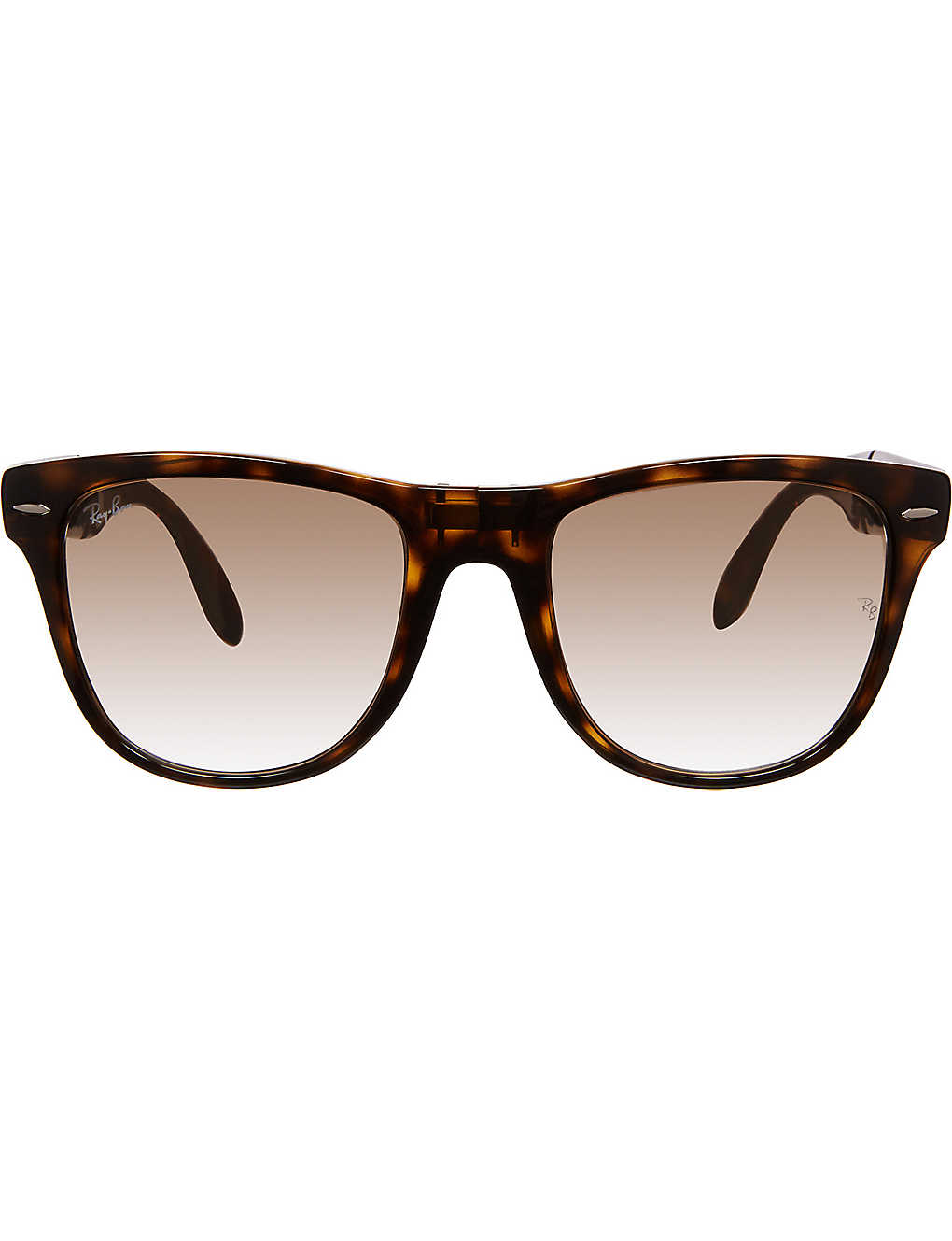 d7807a0c5aee6 Wayfarer Folding Classic square sunglasses RB4105 50 - Light havana ...