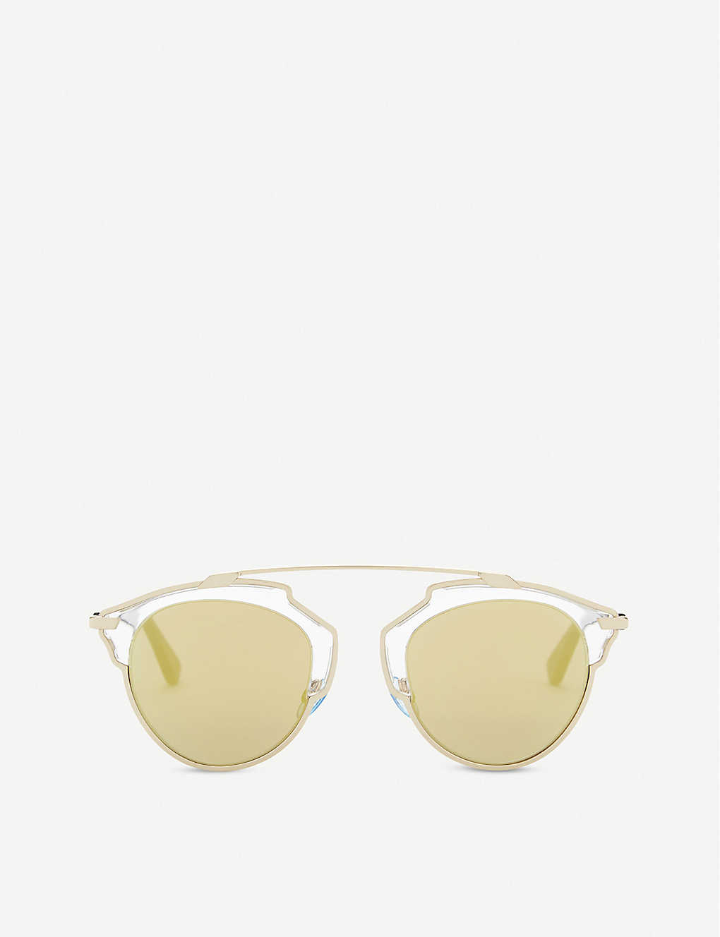 DIOR: So Real round frame sunglasses