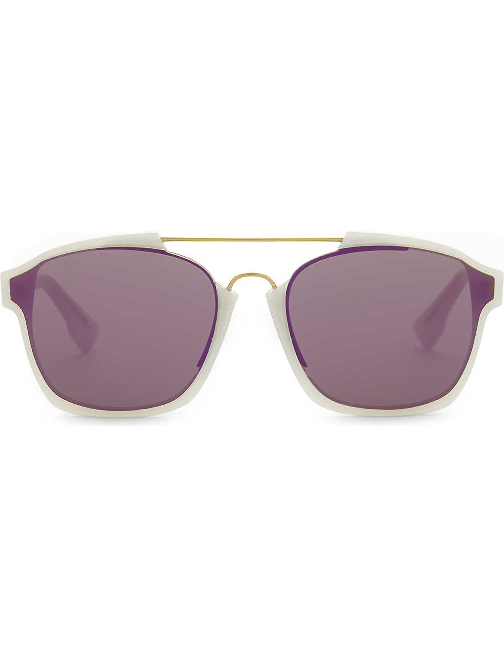 DIOR: Abstract rectangle-frame sunglasses