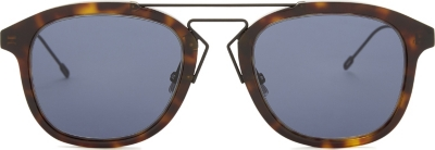 DIOR Blacktie 227s oval frame sunglasses