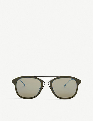 DIOR Blacktie227s oval-frame sunglasses
