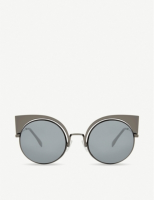 FENDI FF0177 round sunglasses