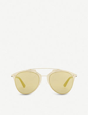 DIOR Reflected oval sunglasses