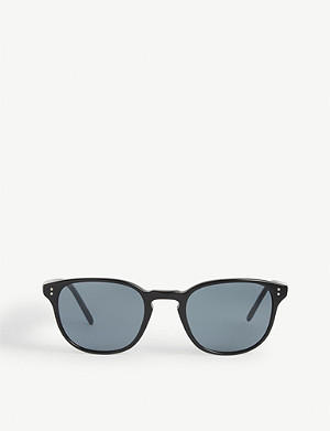 OLIVER PEOPLES Ov5219s Fairmont Sun round frame sunglasses