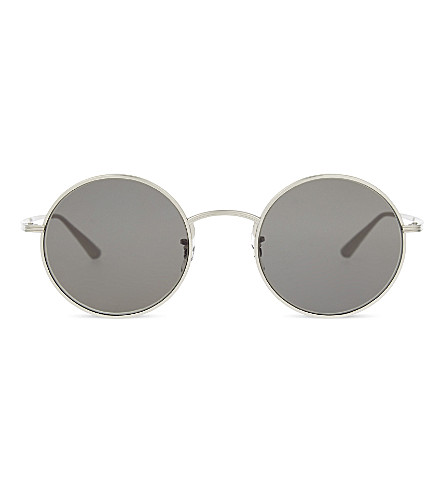 3ac612cf4b OLIVER PEOPLES OV1197ST The Row after midnight round-frame sunglasses  (Silver