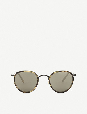 OLIVER PEOPLES Ov1104s oval-frame sunglasses