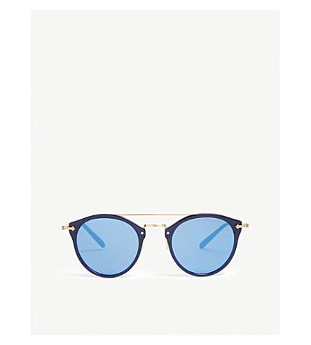 dd5bf5fd5b OLIVER PEOPLES Remick phantos-frame sunglasses (Blue