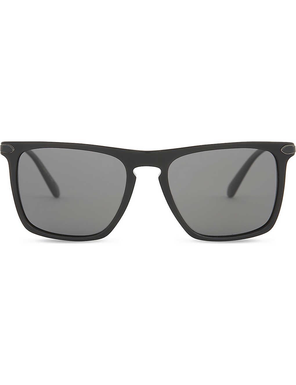 e6ac3a675f38 OLIVER PEOPLES Pour Berluti OV5354 Rue de S?vres square-frame sunglasses